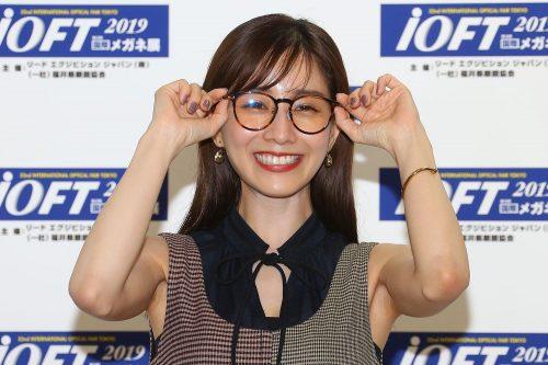 田中みな実メガネ