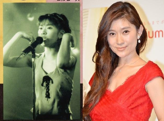 篠原涼子が豊胸になるまでの変化を時系列で徹底比較!真っ平から急激に巨乳に進化した件w